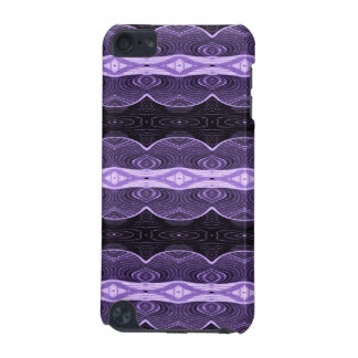 Purple black lace abstract iPod touch 5G case