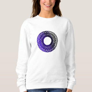 purple-black torpam female sweatshirt