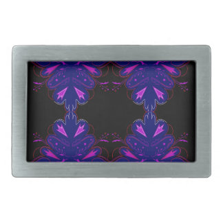 Purple black vintage ornaments belt buckles