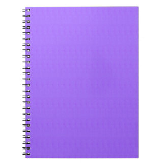 Purple Blank Texture Template DIY add TEXT IMAGE Spiral Note Book
