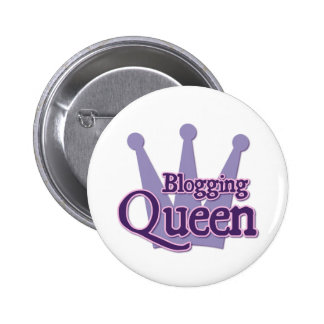 Purple Blogging Design Button