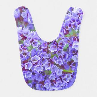 Purple Blooms in Spring Baby Bibs