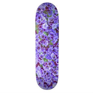 Purple Blooms in Spring Skateboard Decks
