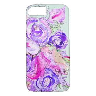 Purple Blooms iPhone 7 Case