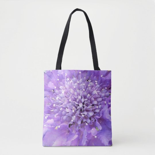 Purple Blossom Tote