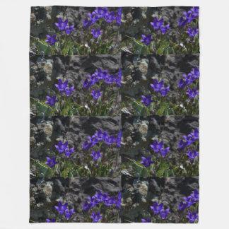 Purple Blossoms Anniversaries Destiny Destiny'S Fleece Blanket