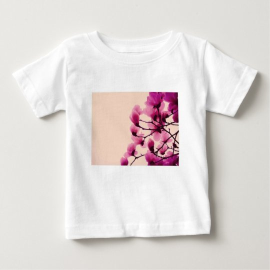 Purple Blossoms Baby T-Shirt
