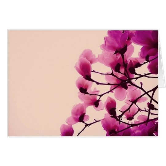 Purple Blossoms Card