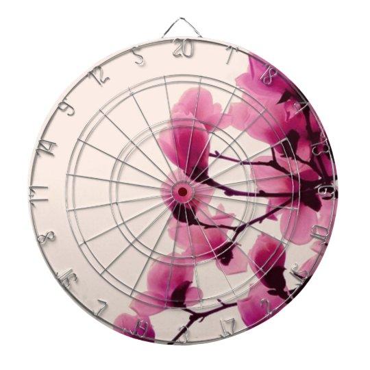 Purple Blossoms Dart Boards