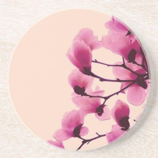 Purple Blossoms Drink Coaster