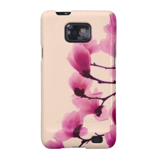 Purple Blossoms Galaxy SII Covers