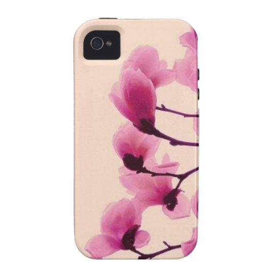 Purple Blossoms iPhone 4 Cases