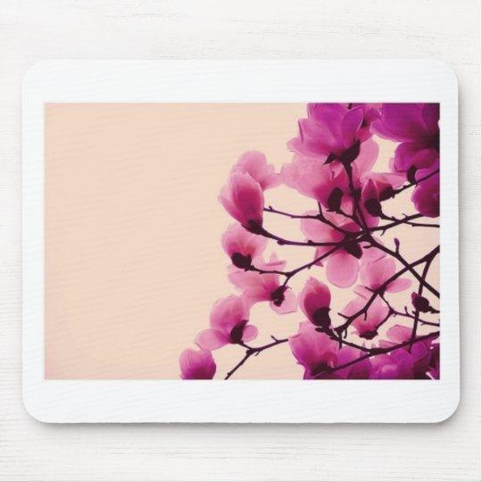 Purple Blossoms Mouse Pad