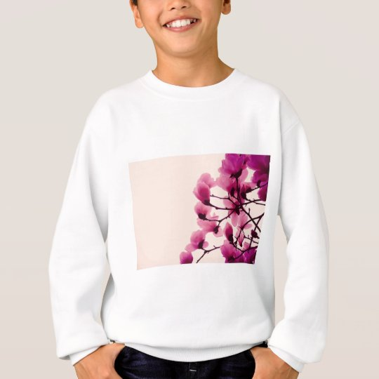Purple Blossoms Sweatshirt
