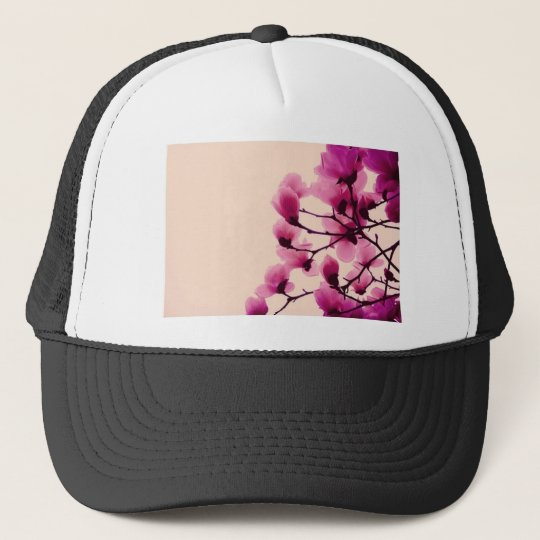 Purple Blossoms Trucker Hat
