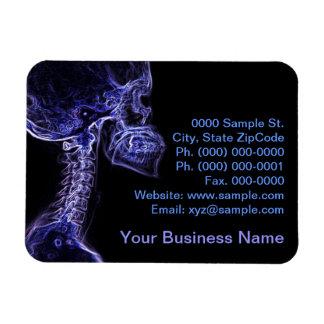 Purple/Blue C-spine flexible magnet (small)