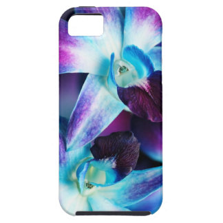 Purple & Blue Dendrobium Orchid Customized Orchids iPhone 5 Case