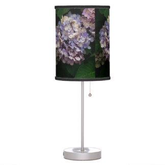 Purple/Blue Hydrangea Table Lamp