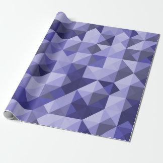Purple Blue Mosaic Pattern