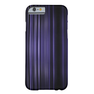 Purple blurred stripes pattern barely there iPhone 6 case