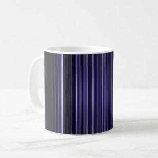 Purple blurred stripes pattern coffee mug