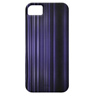 Purple blurred stripes pattern iPhone 5 case