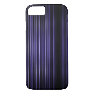 Purple blurred stripes pattern iPhone 8/7 case