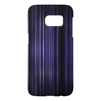 Purple blurred stripes pattern samsung galaxy s7 case