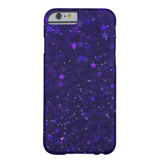 Purple Bokeh Stars Barely There iPhone 6 Case