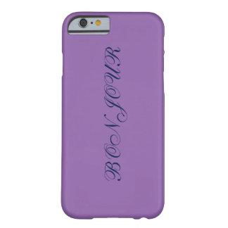 purple bonjour iphone 6s case