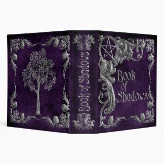 "Purple ""Book Of Shadows"" w/ Silver Highlights #1-L Binder"