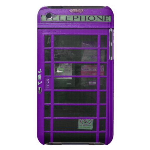 purple booth barely there iPod covers
