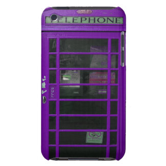 purple booth iPod touch cover