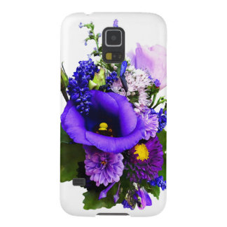 Purple Bouquet With Lilies And Delphinium Galaxy S5 Case