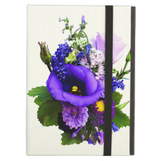 Purple Bouquet With Lilies And Delphinium iPad Air Cover