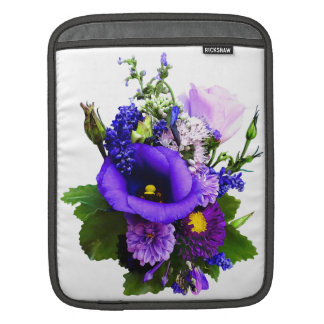 Purple Bouquet With Lilies And Delphinium iPad Sleeve