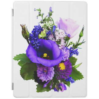 Purple Bouquet With Lilies And Delphinium iPad Smart Cover