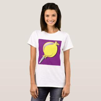Purple Boxed Gossip Lolly by Life Simplicidad T-Shirt