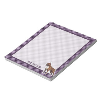Purple Boxer Notepad