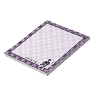 Purple Boxing Notepad