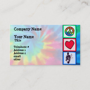 Purple Boxing Business Card