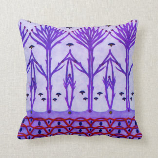 Purple Branches American MoJo Pillows