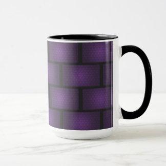 Purple Brick Mug