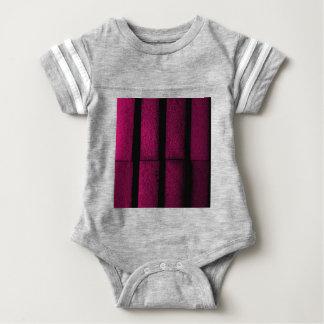 Purple Bricks Baby Bodysuit