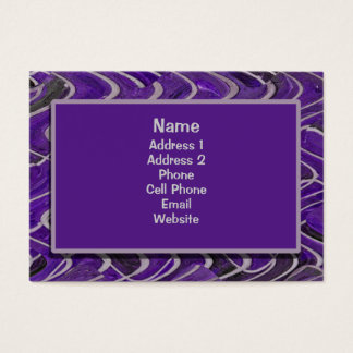 purple bricks business card