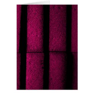 Purple Bricks Card