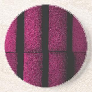 Purple Bricks Coaster