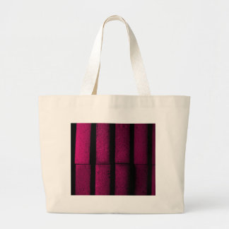 Purple Bricks Large Tote Bag