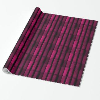 Purple Bricks Wrapping Paper