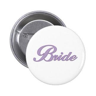 Purple Bride Pins